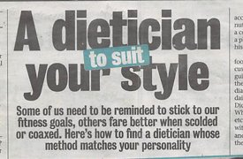 A Dietician Your Style