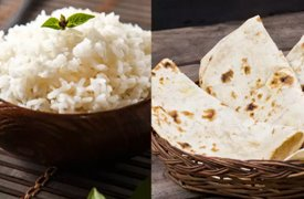 Weight Loss: Should you have rice or roti for dinner?